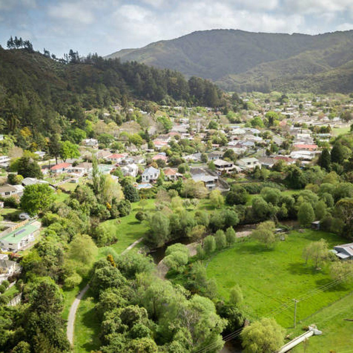 Regional project in New Zealand