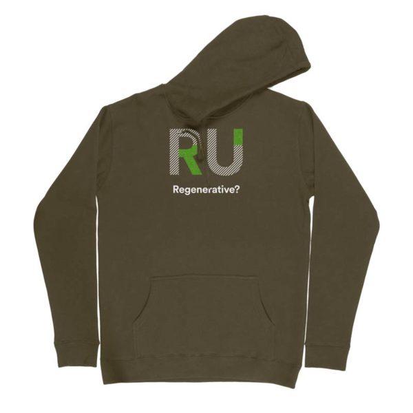 Green Hoodie - Front Design