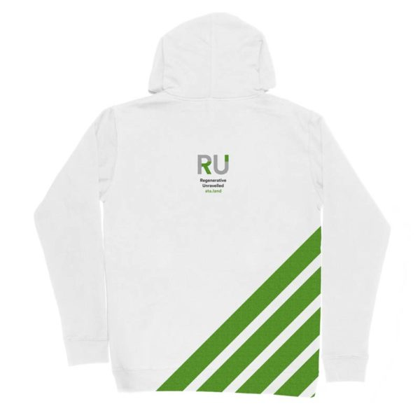 White Hoodie - Back Design