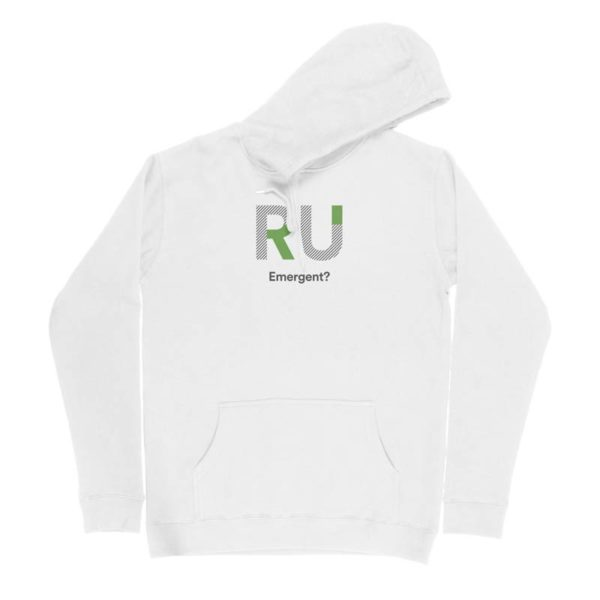 White Hoodie - Front Design