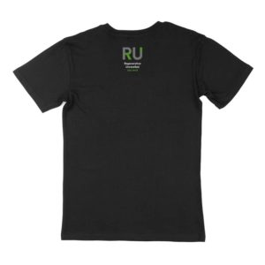 Black Men's Tshirt - Back Design