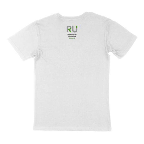 White Men's Tshirt - Back Design