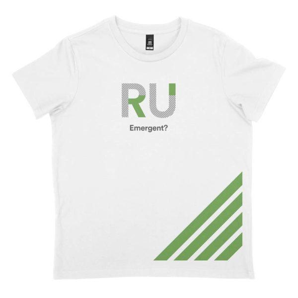 White Men's Tshirt - Front Design