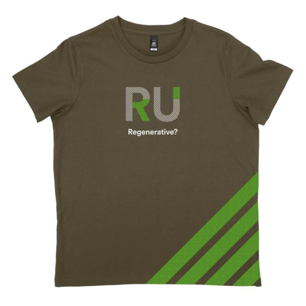 Green Women's Tshirt - Front Design