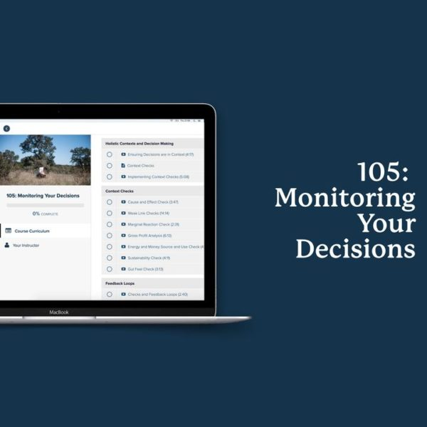 Monitoring Your Decisions