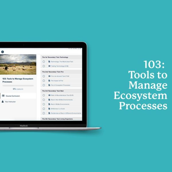 Tools to Manage Ecosystem Processes