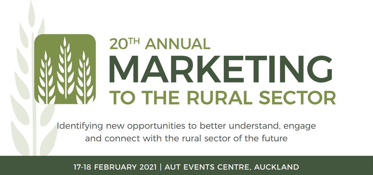 Marketing to the Rural Sector conference